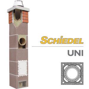 Schiedel UNI одноходовой дымоход без вентиляции основание