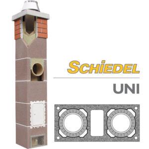 Schiedel UNI двухходовой дымоход с вентиляцией основание