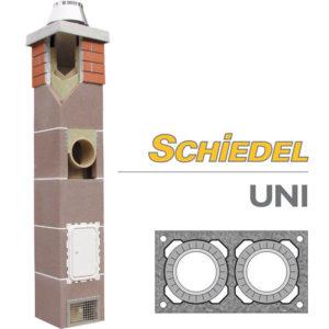 Schiedel UNI двухходовой дымоход без вентиляции основание
