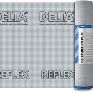 DELTA REFLEX / DELTA REFLEX PLUS пароизоляция с алюминиевым рефлексным слоем