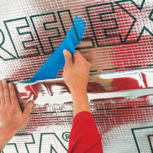 DELTA REFLEX PLUS пароизоляция с алюминиевым рефлексным слоем