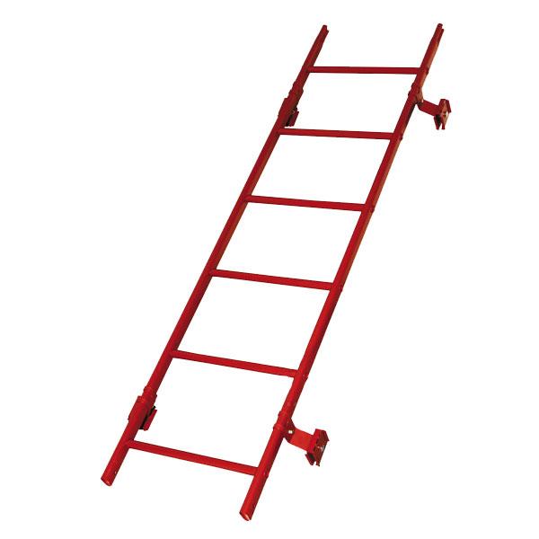 Кровельная лестница престиж фальц RAL3011