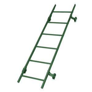 Кровельная лестница престиж фальц RAL6005