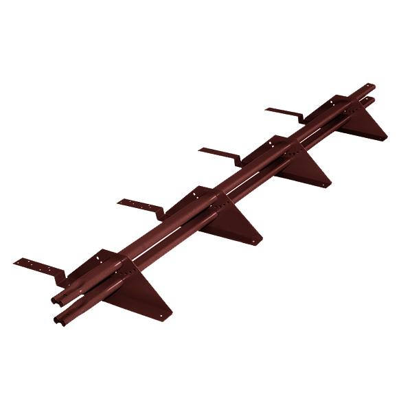 Снегозадержатель трубчатый престиж композит RAL8017