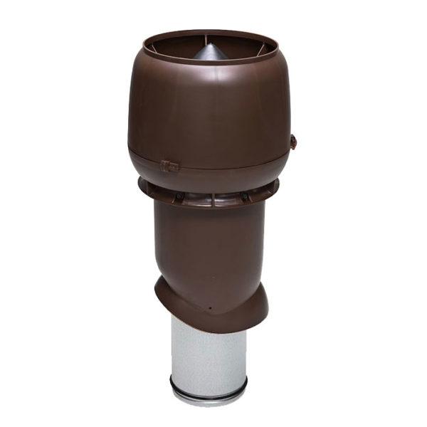 Вентиляционный выход утепленный 160/ИЗ/500 vilpe коричневый