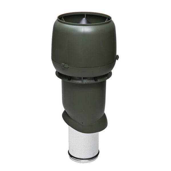 Вентиляционный выход утепленный 160/ИЗ/500 vilpe зеленый