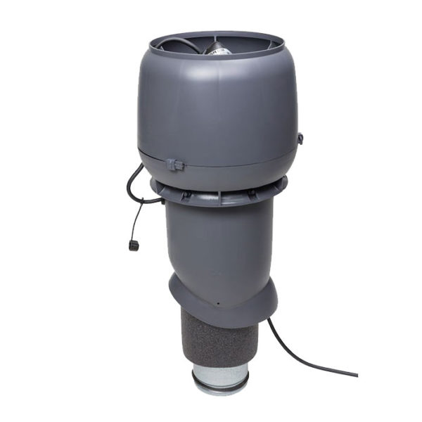 Вентилятор e190 p/125/500 vilpe серый