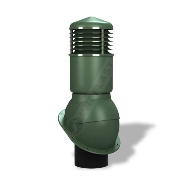 Вентиляционный выход 150 Wirplast К54 зеленый