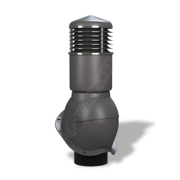 Вентиляционный выход 150 Wirplast К55 серый