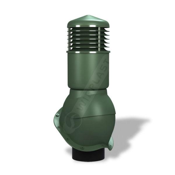 Вентиляционный выход 150 Wirplast К55 зеленый