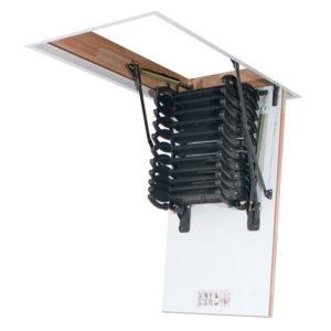 Чердачная лестница LST Fakro металлическая термоизоляционная