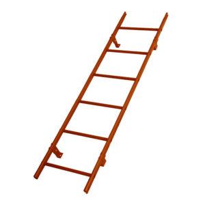 Кровельная лестница RAL8004
