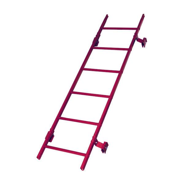 Кровельная лестница престиж фальц RAL3005
