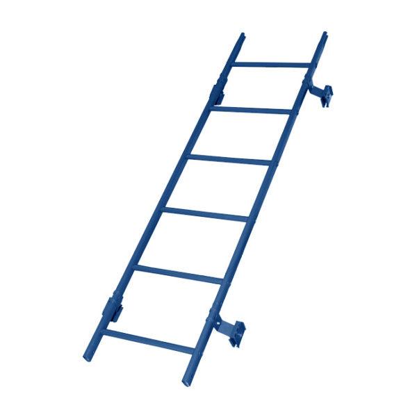 Кровельная лестница престиж фальц RAL5005