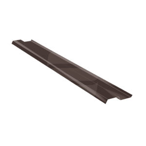 Прижимная планка стальная 2 м коричневый