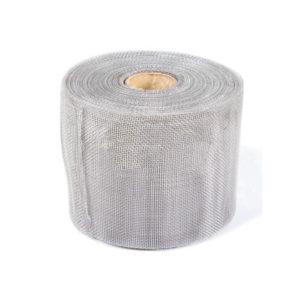 Алюминиевая сетка от насекомых и птиц 200 мм