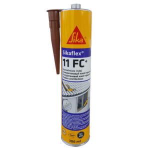 Sikaflex 11FC полиуретановый клей-герметик коричневый