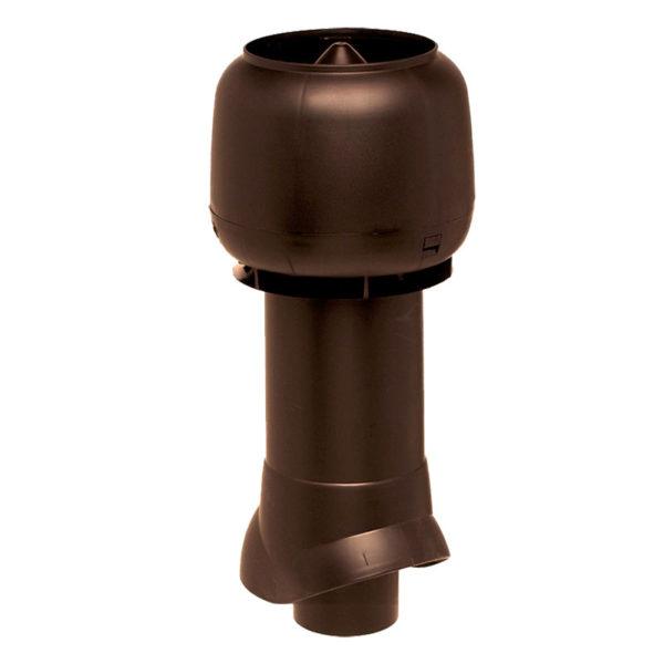 Вентиляционный выход утепленный 110/ИЗ/500 vilpe коричневый