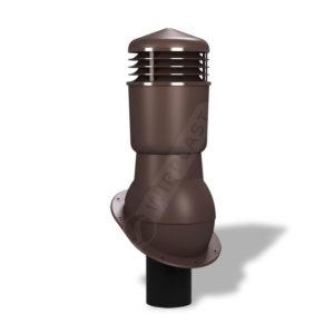 Вентиляционный выход 110 Wirplast К24 коричневый