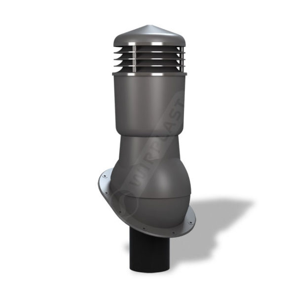 Вентиляционный выход 110 Wirplast К24 серый