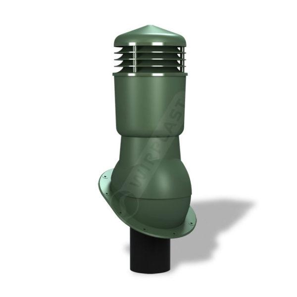 Вентиляционный выход 110 Wirplast К24 зеленый