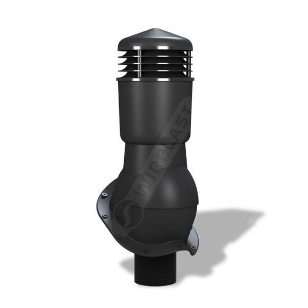 Вентиляционный выход 110 Wirplast К49 черный