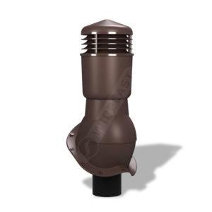 Вентиляционный выход 110 Wirplast К49 коричневый