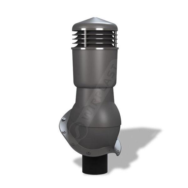 Вентиляционный выход 110 Wirplast К49 серый