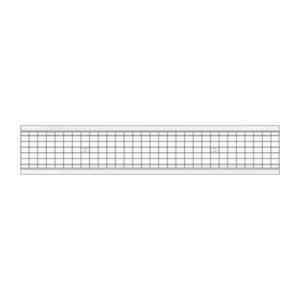 Решетка ливневая стальная ячеистая DN150