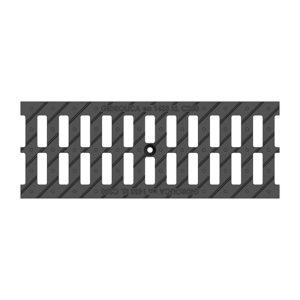 Решетка ливневая чугунная щелевая DN150