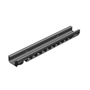 Пластиковый водоотводной лоток Gidrolica Standart Plus DN100 усиленный H80