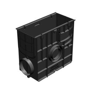Пластиковый пескоуловитель Gidrolica Standart DN150/200