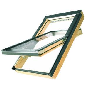 """FAKRO FTP-V P2 Профи деревянное окно """"триплекс"""""""