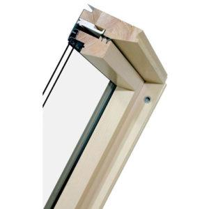 FAKRO FTS U2 Стандарт деревянное окно