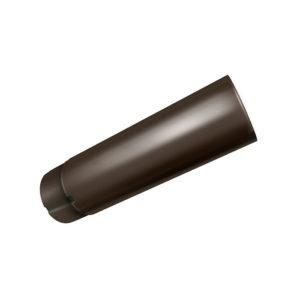 Труба водосточная Grand Line темно-коричневый 32
