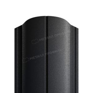 Металлический штакетник МП ELLIPSE матовый 9005