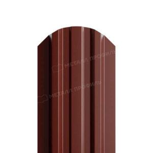 Металлический штакетник МП LANE RAL 8017