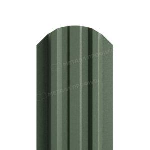 Металлический штакетник МП LANE матовый RAL 6007