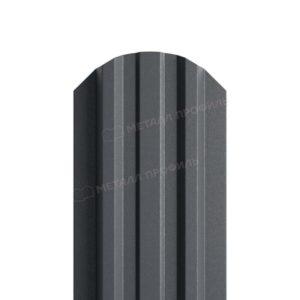 Металлический штакетник МП LANE матовый RAL 7024