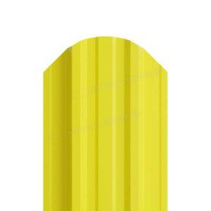 Металлический штакетник МП TRAPEZE односторонний RAL 1018