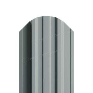 Металлический штакетник МП TRAPEZE односторонний RAL 7005