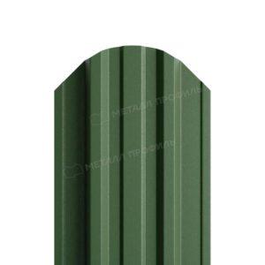 Металлический штакетник МП TRAPEZE матовый RAL 6007
