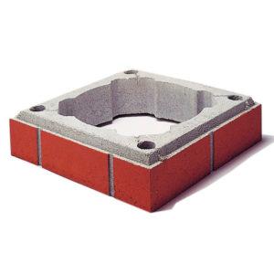 Комплект верхний FINAL Schiedel UNI одноходовой без вентиляции