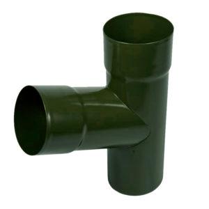 Тройник трубы Aquasystem светло-зеленый RR11 PURAL