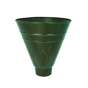 Воронка водосборная круглая Aquasystem светло-зеленый RR11 PURAL