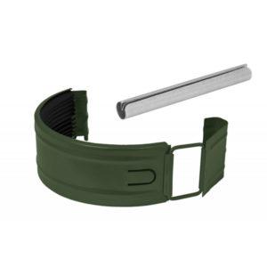Соединитель желоба в комплекте Aquasystem светло-зеленый RR11 PURAL