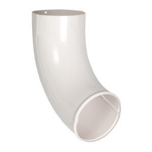 Отвод трубы Aquasystem белый RR20 PURAL