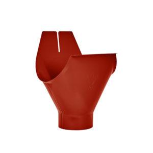 Воронка желоба Aquasystem красный RR29 PURAL