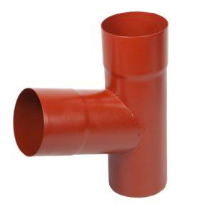 Тройник трубы Aquasystem красный RR29 PURAL