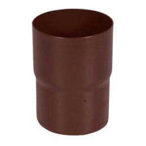 Соединитель трубы Aquasystem коричневый RAL8017 PURAL